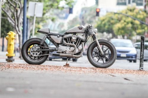 cafesportster:Headcase Kustoms Cafe Sportster - #motorcycles #caferacer #motos | caferacerpasion.com