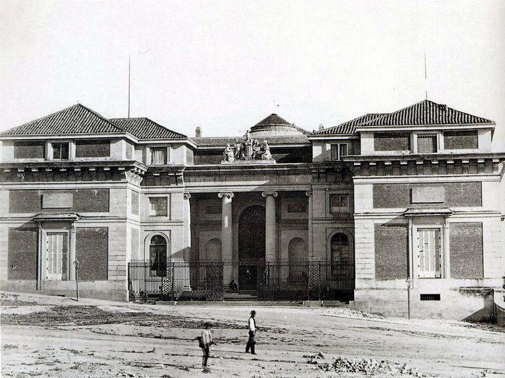 Museo del Prado, anterior a 1878 Autor desconocido. Museo de Historia (Madrid).