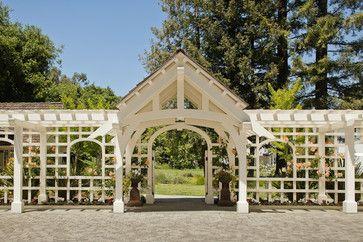 Victorian Pool House - traditional - entry - san francisco - John Malick & Associates