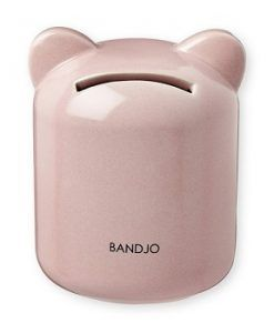 Porcelain Pink Money Box - Pig $35.00 ww.sweetcreations.com.au #sweetcreations #baby #toddler #kids #toys #play #bathtime #dinnertime #gifts