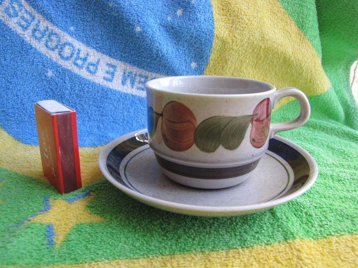 Sweden Rorstrand tea coffe pair cup saucer plate Vintage Birgitta Decor VDN #Rorstrand