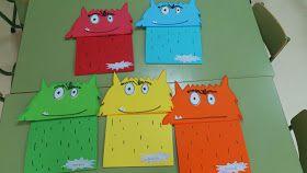 Hoy los niños y niñas de la clase se han convertido en monstruos de colores amarillos, que representa la alegría, para despedir el Proyecto...