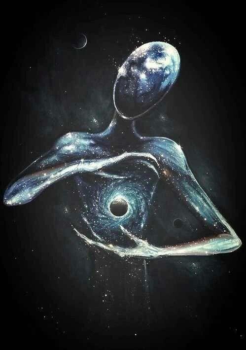 art, artist, dark, darkness, draw, drawing, galaxy, grunge, hipster, indie, people, stars, universe, First Set on Favim.com