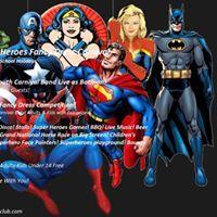Super Heroes Fancy Dress Carnival