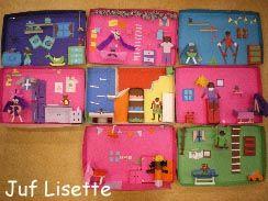 Sint: groepswerk -> elk groepje n kamer knutselen van t huis v Sinterklaas!