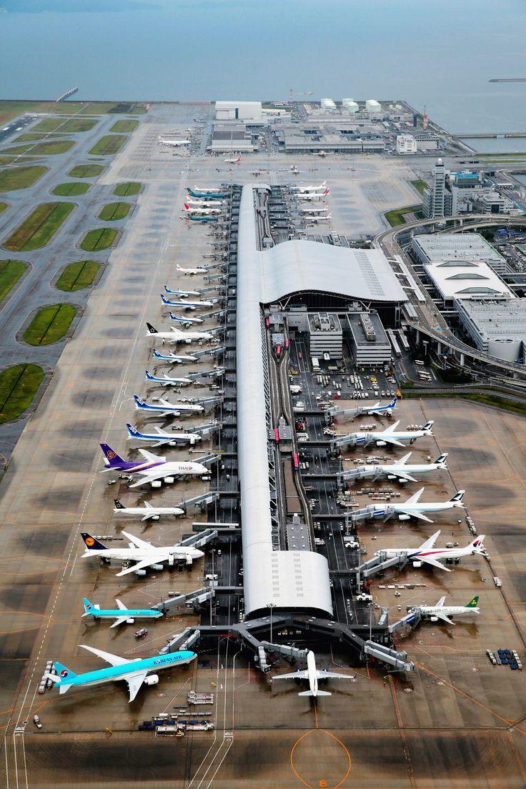 8. Kansai International Airport, Osaka Bay, Japan