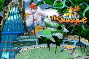 Diskon Special : The Jungle Waterpark Mulai Rp.50,000 Plus Paket FreePass 4D , Nikmati Serunya Sensasi Bermain Air Rame-rame - www.evoucher.co.id #Promo #Diskon #Jual  Klik > http://evoucher.co.id/deal/The-Jungle-Waterpark  Serunya bermain bersama keluarga diantara segarnya alam pegunungan. Tidak hanya wahana bermaian air seperti Kolam ombak dan berseluncuran kamu juga akan disuguhkan dengan nuansa alami alam, kicauan burung, serta yang paling seru kamu bisa melihat The J