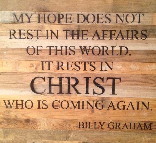 Christian Quotes Encouragement: De 25+ Bedste Idéer Inden For Billy Graham På Pinterest