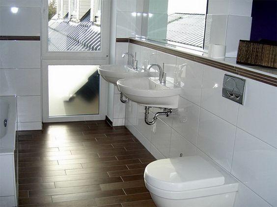 54 Best Badezimmer Images On Pinterest Bathroom, Architecture   Badezimmer  7qm