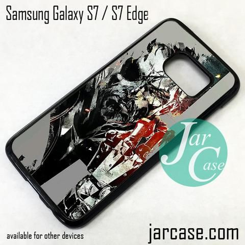 Metal Gear Solid Snake Art Phone Case for Samsung Galaxy S7 & S7 Edge