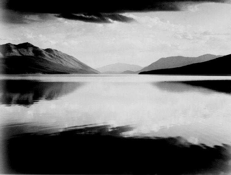 "Ansel Adams  ""Evening, McDonald Lake, Glacier National Park"" Montana  Photography"