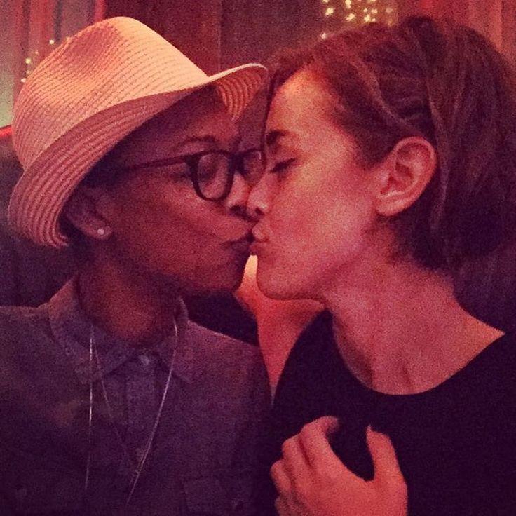 Orange is the New Black - Samira Wiley and her girlfriend, writer Lauren Morelli