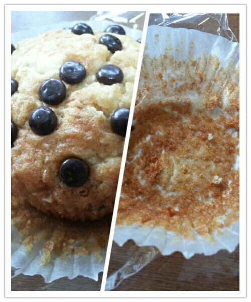 Choco Cips wheat Muffin from Wholegrain Basket :9