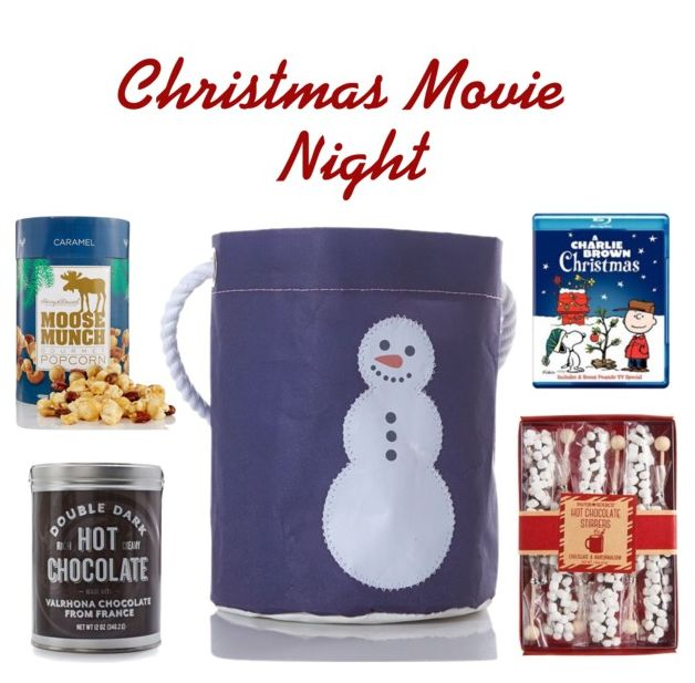 At Sea Bags headquarters in Maine, things can get pretty hectic over the holidays. That's why we love the idea of a gift that reminds you to sit back, relax with some good hot chocolate, and share a favorite movie with friends and family. Fill a holiday bucket bag with gourmet popcorn, hot chocolate, and a favorite movie and you're ready to go!