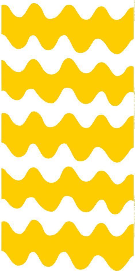 Inspiraatio / Designstudio Piia (Lokki-puuvilla (valkoinen, keltainen)   Kankaat, Puuvillakankaat   Marimekko)