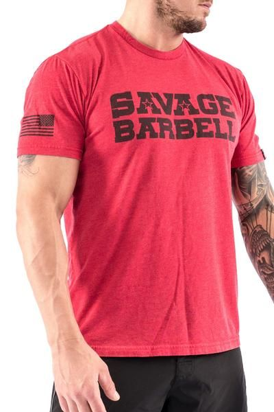 b8930619 Men's T-shirt - Classic Red Savage in 2019 | Rogue | Mens tops ...