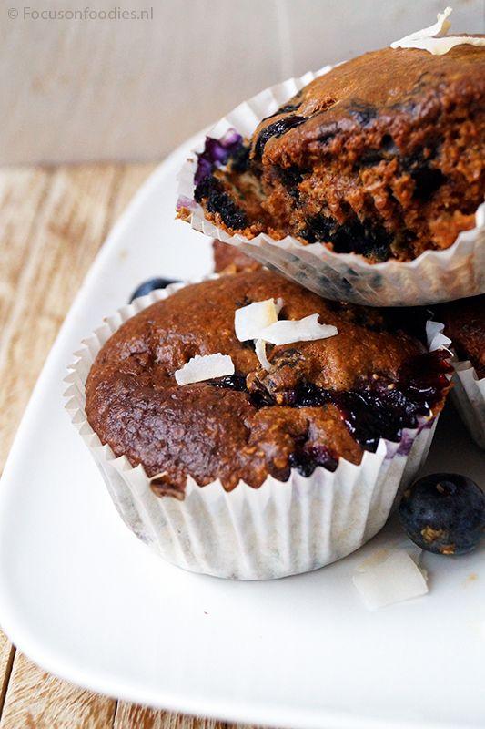 Gezond snoepen: glutenvrije havermout muffins zonder suiker