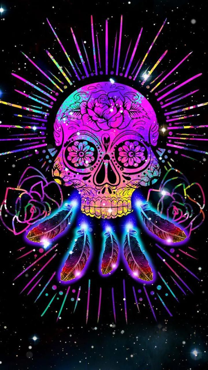 Dream Catcher Skull Skull Wallpaper Galaxy Skull Dream