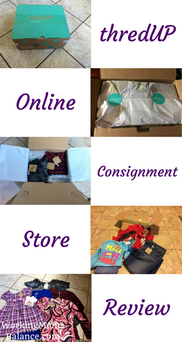 ThredUp is an online consignment store selling secondhand quality clothes. They offer name brand clothes for women and children at greatly discounted prices. You can definitely find a great deal on new clothes at thredup