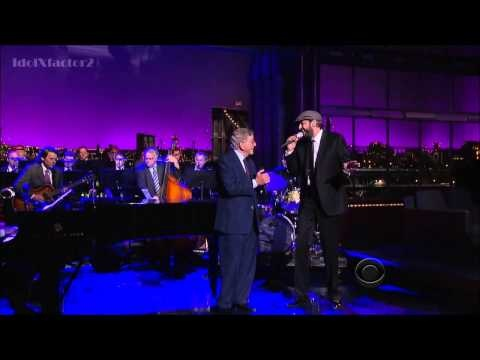 Tony Bennett Duet with Juan Luis Guerra - Just In Time - David Letterman 10-22-12