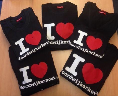 I love Noordwijkerhout t-shirts