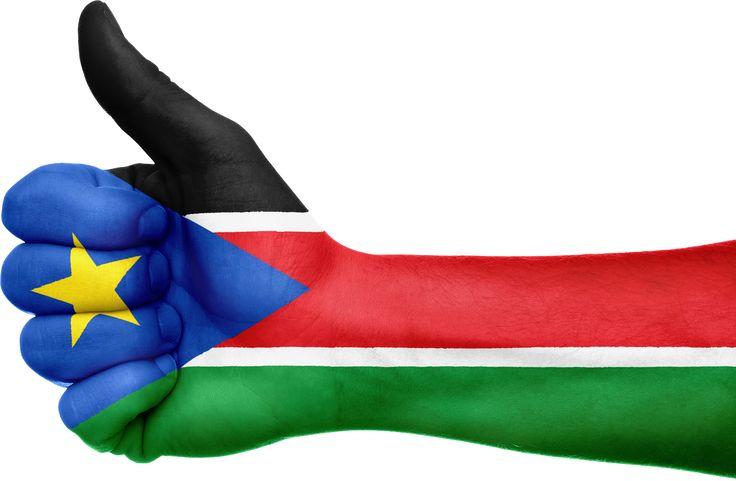 South Sudan Flag Hand National transparent image
