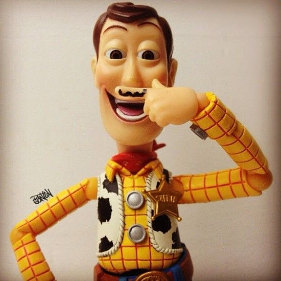 Woody by Santlov: Funnies Guys, Hipster, Whiskers, Disney Pixar, Toys Art, Funnies Man, Blog Design, Life Photography, Toys Stories