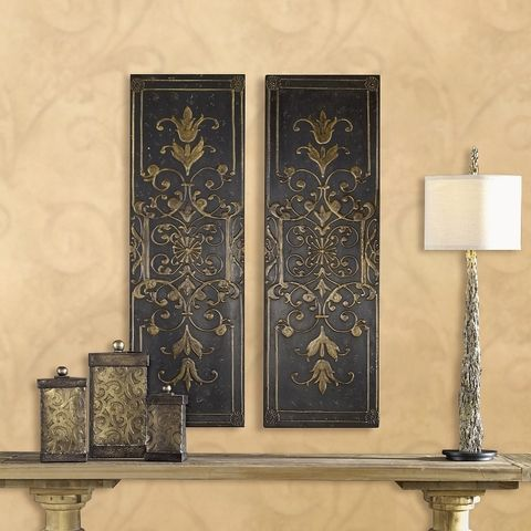 Tuscan Wall Art, Tuscan Wall Decor. Uttermost 04023 Melani Panels, S/2. Authorized Uttermost Home Decor Retailer Since 1996. Free Shipping. Guaranteed Lowest Prices. BellaSoleil.com Tuscan Decor.