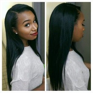 48 best hair goals 5 images on pinterest hairstyles 15 years how i want my sew in to look pmusecretfo Images