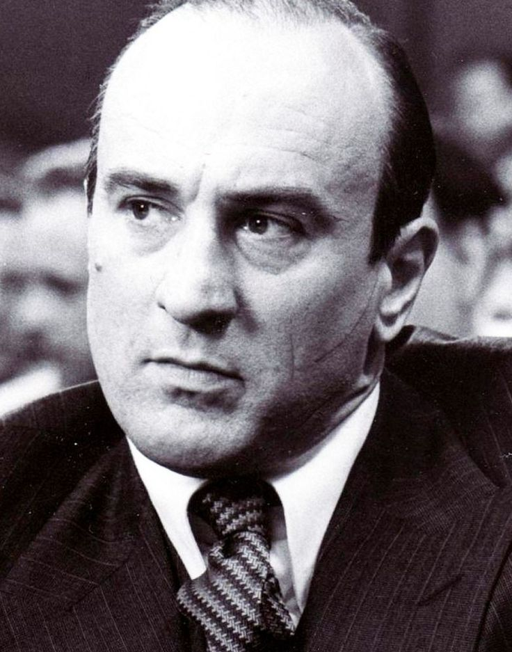 Robert de Niro as Al Capone
