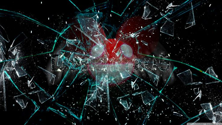 Broken Glass Deadmau HD desktop wallpaper High Definition Mobile
