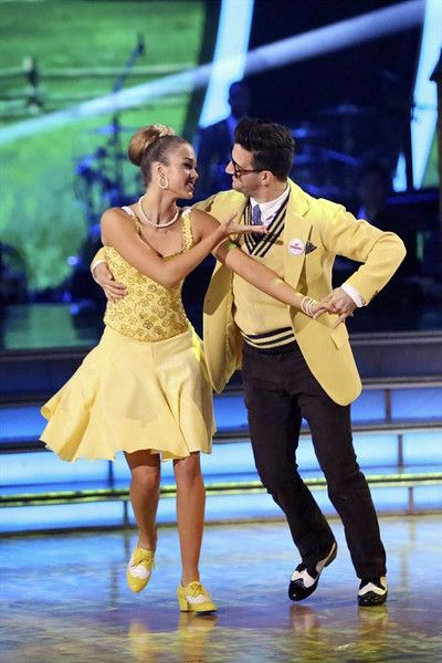 """Wk 3 Sadie & Mark danced Viennese Waltz to """" Married Life"""" by Michael Giacchino (Movie Up)  Scored: 8+8+8+8 = 32"""