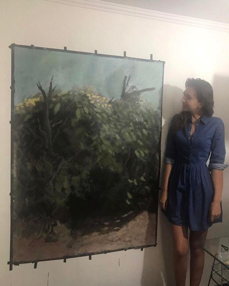 """388 Me gusta, 9 comentarios - Nataly Chilet (@natychilet) en Instagram: """"El hermoso cuadro que está haciendo mi hermano #arte #art #illustration #drawing #draw #picture…"""""""