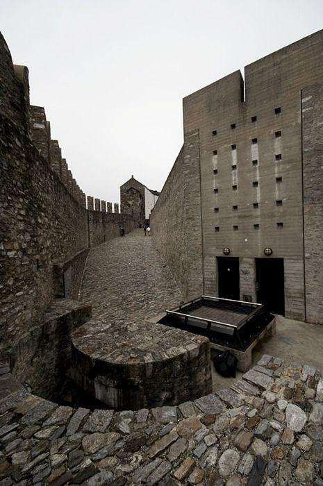 Aurelio Galfetti - Historic integration at it's finest; the restoration of Castelgrande, Bellinzona