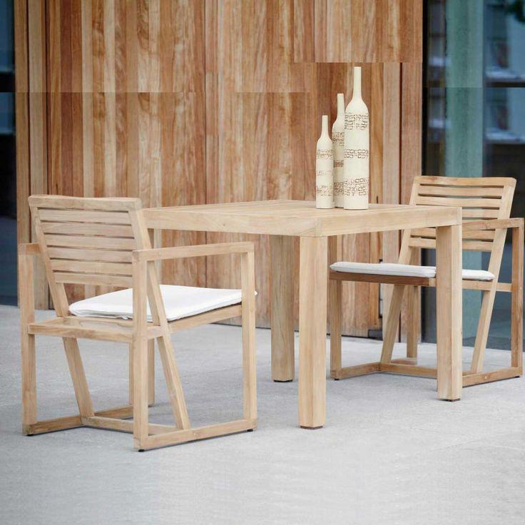 Balkonmobel Set Cube : Jan Kurtz Armlehnsessel Timber kaufen im borono Online Shop