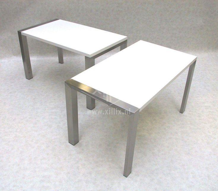 25 best images about op maat gemaakte tafels on pinterest http - Keukentafel corian ...