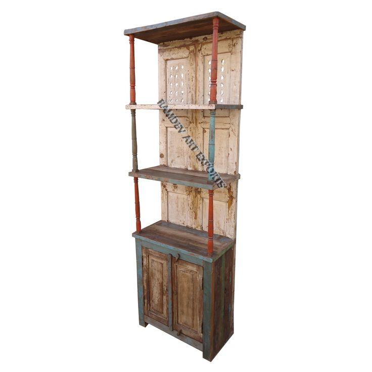 Indian Two Door Book Case Item Code :RD-BK-14-1 Item Size : 64X33X200