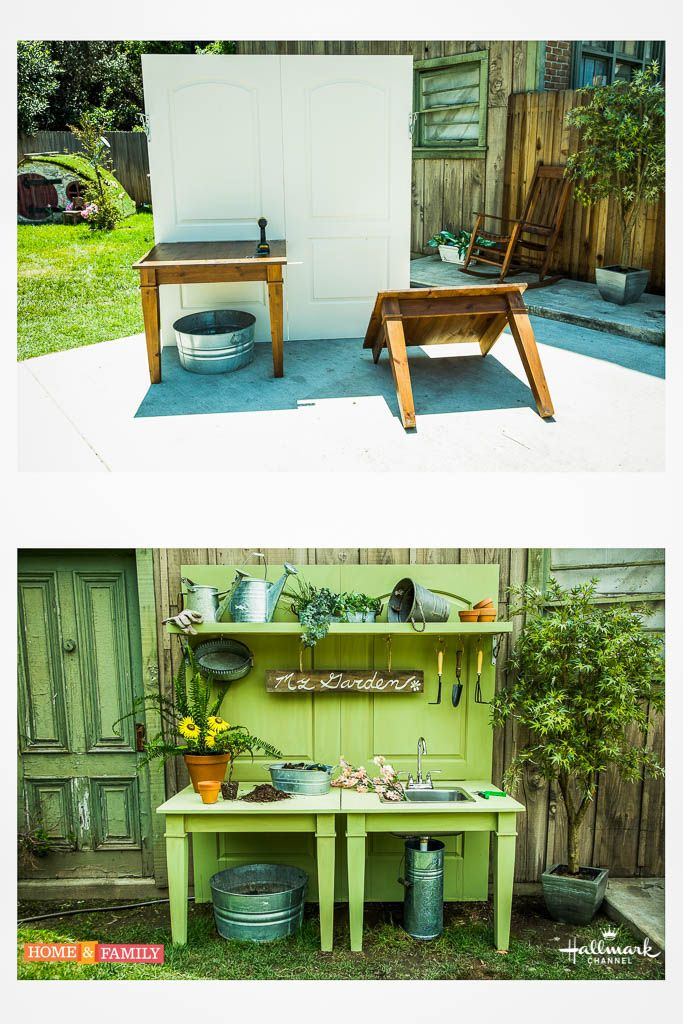 It's the only potting bench you'll ever need! Kenneth Wingard's Ultimate DIY Potting Bench! For more DIYs tune in to Home & Family weekdays at 10a/9c on Hallmark Channel!