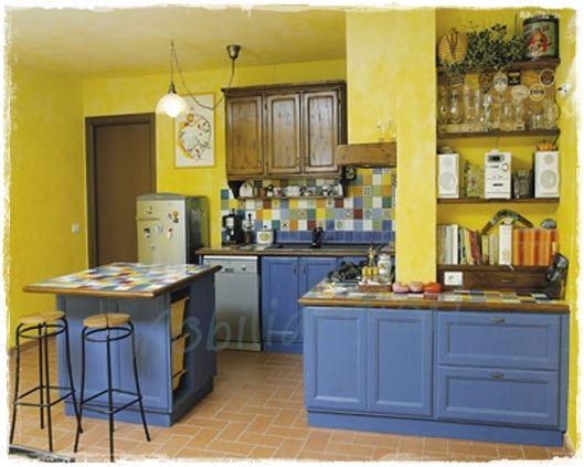 Oltre 25 fantastiche idee su colori per mobili cucina su - Colori mobili legno ...