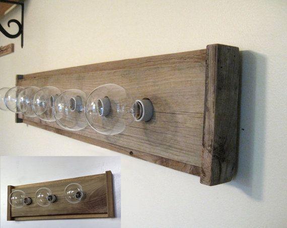 17++ Wooden bathroom vanity lights custom