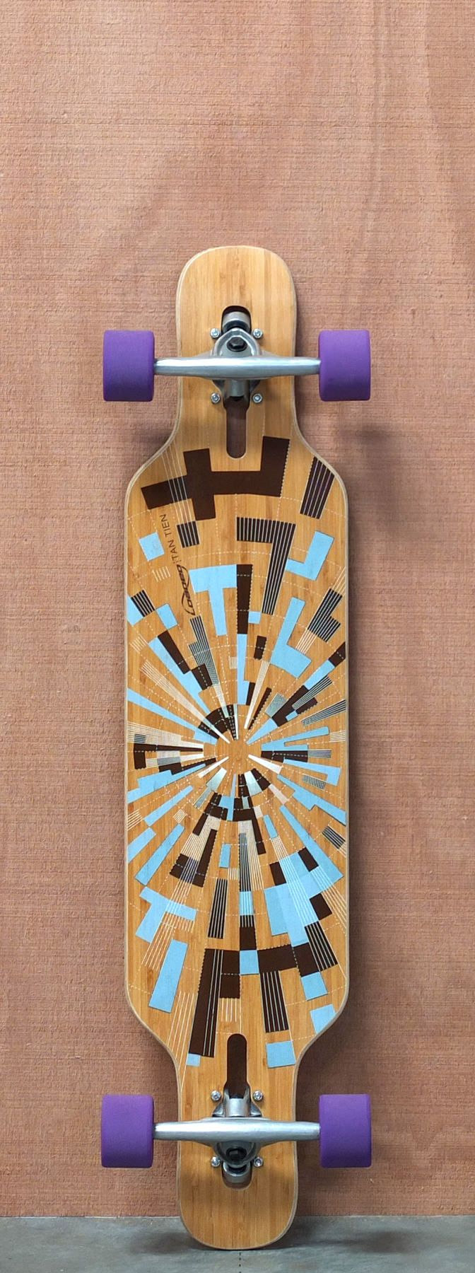"""Loaded 39"""" Tan Tien Longboard Complete, Flex 3 Love this and if I knew how to skate I would totally get this"""
