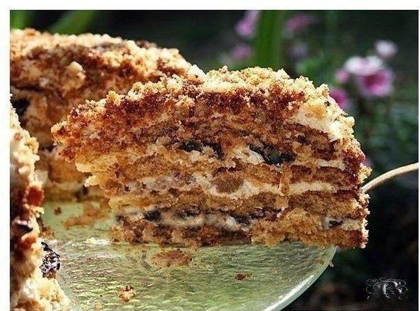 Торт Белочка - самый простой рецепт