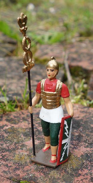 soldats de plomb et figurines de collection - au plat d'étain à Paris - romain