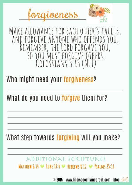 Best 25+ Forgiveness lesson ideas on Pinterest | Lessons ...