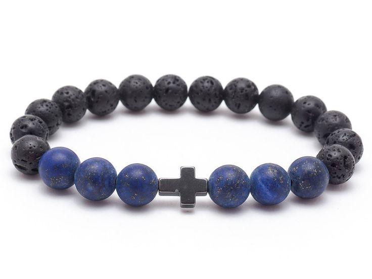 Mens Armbands – Bracelet Men 04/20 – a unique product by Blackif on DaWanda