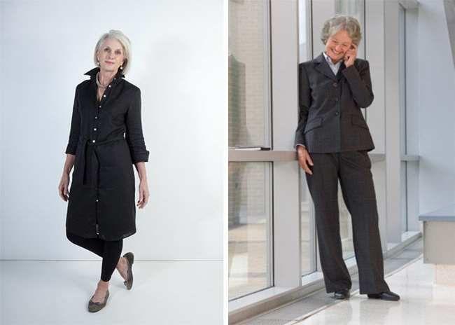 модная одежда для женщин за 50 лет - верхняя одежда
