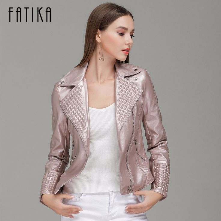 Find More Leather & Suede Information about FATIKA 2017 Autumn Winter Fashion Women Faux Leather Jacket Zippers Coat With Pockets Flying Motorcycle Jackets Outwear,High Quality women faux leather jacket,China faux leather jacket Suppliers, Cheap leather jacket zipper from FATIKA Official Store on Aliexpress.com