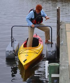 If a sandy-beach is in your backyard, then you may not need a YAK-A LAUNCHER™, but for the rest of us, we need something to make the risky task of entering and exiting the boat safe and simple.