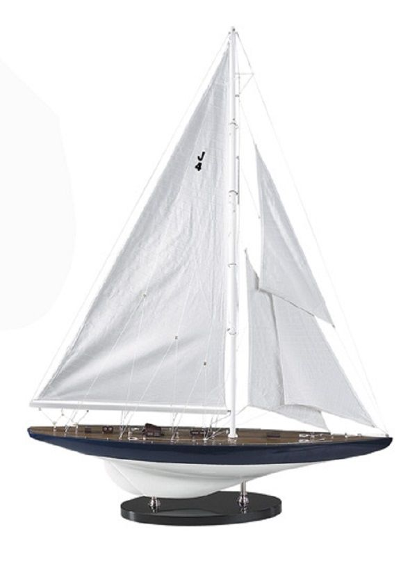 America S Cup Yacht Model Rainbow All Things Nautical