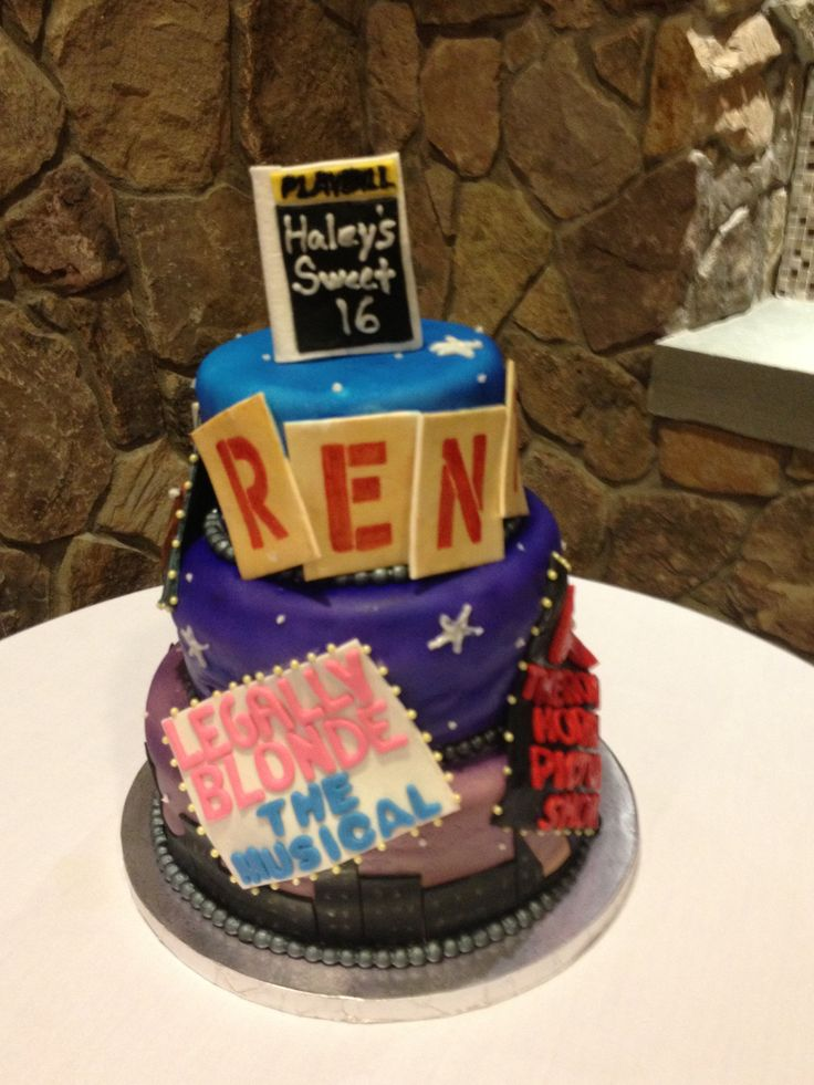 Broadway Cake My Cakes Pinterest Cakes And Broadway